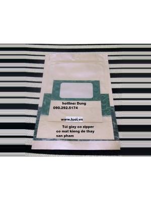 Túi giấy zipper đáy đứng 03