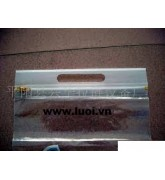 Túi zipper( đục lổ Quai xách) HD01
