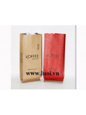 In túi giấy cafe giá rẻ
