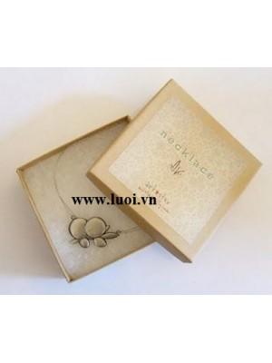 Hộp giấy kraft âm dương đựng trang sức giá rẻ