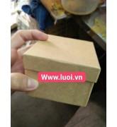 Hộp giấy kraft đựng trang sức