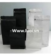 Túi bạc zipeer 8 cạnh có đóng van giá rẻ nhất thị trường