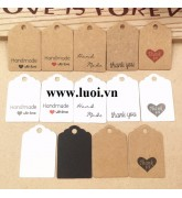 Tag giấy handmade giá rẻ