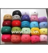 Chỉ len cuộn (1 màu)